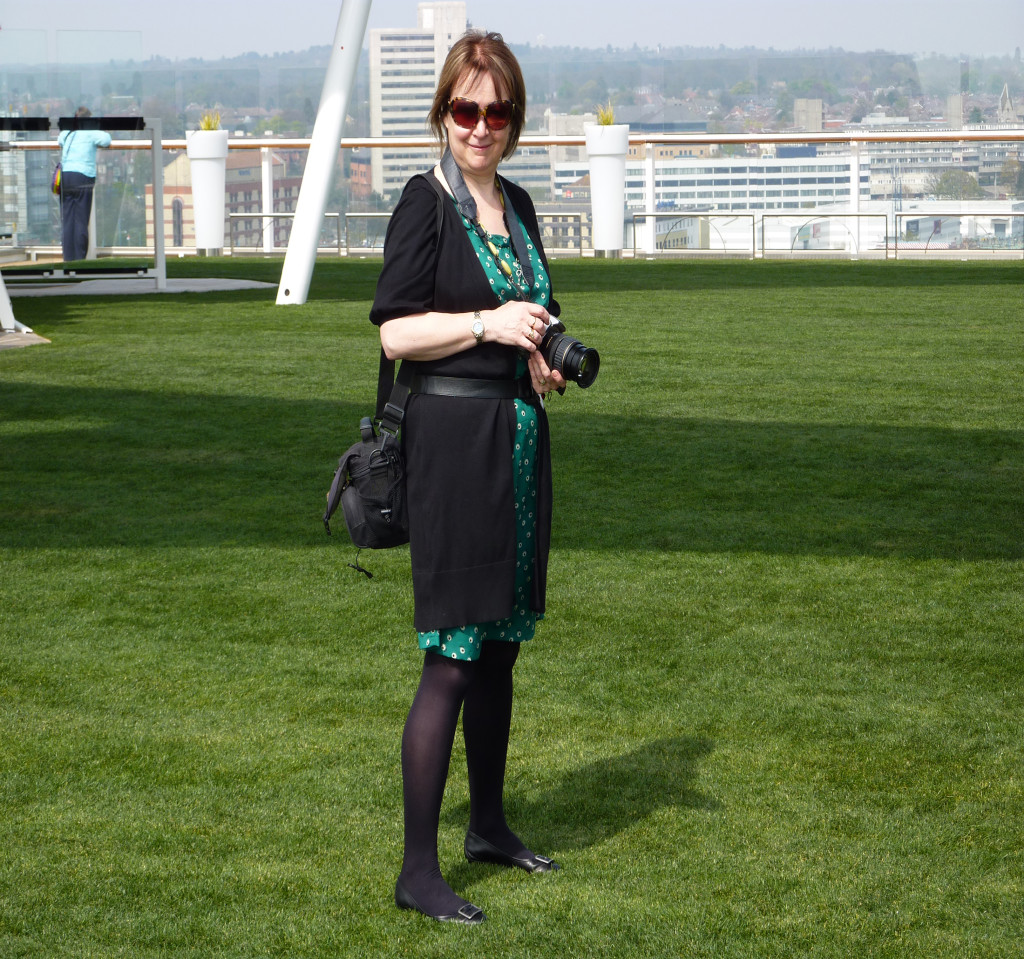 Travel writer Gilly Pickup on the Celebrity Eclipse, the first cruise ship to have a lawn.