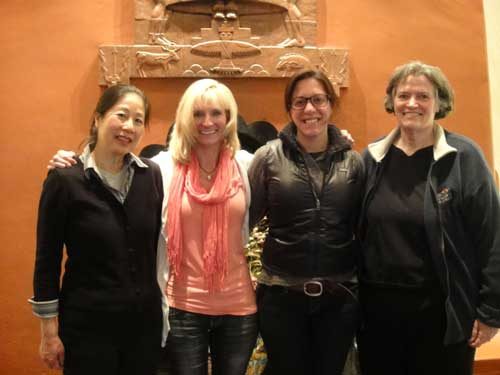 New friendships at a travel writing workshop